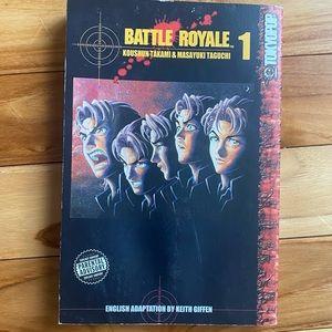 Battle Royale Manga Vol.1 Graphic Novel